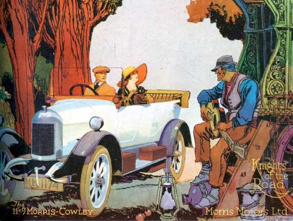 Morris-Cowley Cover