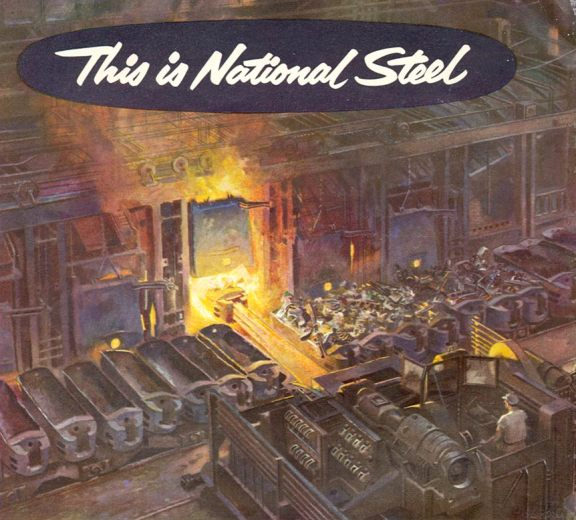 National Steel: Open Hearth Furnace